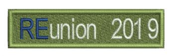 38 BERLIN REUNION EMBROIDGED SLEEVE BADGE